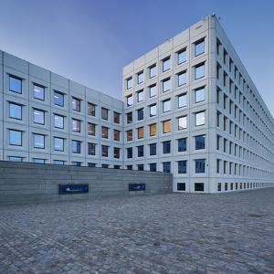 Maersk Headquarter, Harbour, Copenhagen, Denmark by Rainer Mirau