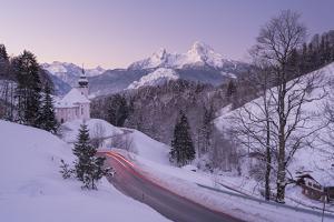 Maria Gern, Watzmann, Berchtesgadener Country, Bavaria, Germany by Rainer Mirau