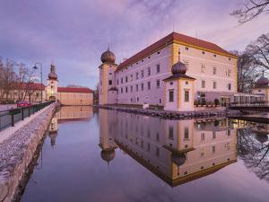 Moated Castle Kottingbrunn, Lower Austria, Austria by Rainer Mirau