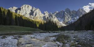 Monte Mulaz, Cima Del Focobon, Cima Dei Bureloni, Brook Travignolo, Val Venegia by Rainer Mirau