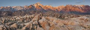Mount Whitney, Alabama Hills, Near Lone Pine, Sierra Nevada, California, Usa by Rainer Mirau