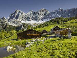 Neustattalm, Dachstein, Styria, Austria by Rainer Mirau