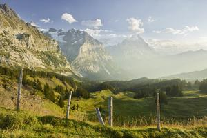 North Face of the Eiger, Mountain Matten, Switzerland by Rainer Mirau