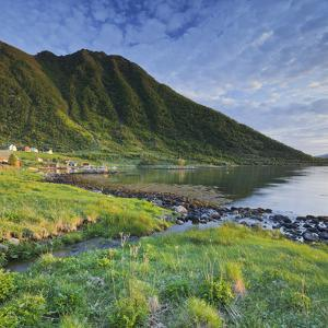 Norway, Nordland, Lofoten, Myrlandsfjorden by Rainer Mirau