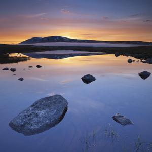 Norway, Nordland, Saltfjellet Svartisen National Park, Semskadalen, Semskfjelle by Rainer Mirau