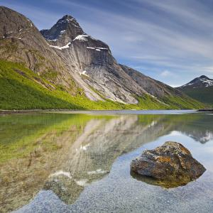 Norway, Nordland, Tysfjord, Stefjordbotn, Stetind, Stefjord by Rainer Mirau