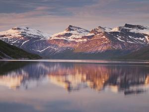 Norway, Northern Country, Ballangen, Efjorden, Isfjellet by Rainer Mirau