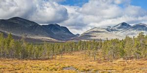 Norway, Rondane National Park, Mountain Landscape by Rainer Mirau