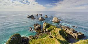 Nugget Point, Otago, South Island, New Zealand by Rainer Mirau