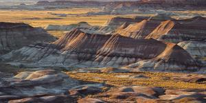 Painted Desert, Winslow, Arizona, Usa by Rainer Mirau