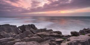 Pancake Rock, Paparoa, West Coast, South Island, New Zealand by Rainer Mirau