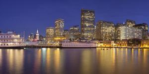 Pier 7, Financial District, San Francisco, California, Usa by Rainer Mirau