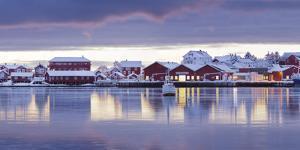 Reine' (Village), Moskenesoya (Island), Lofoten, 'Nordland' (County), Norway by Rainer Mirau