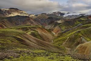 Rhyolithe Rock, Landmannalaugar, Iceland by Rainer Mirau