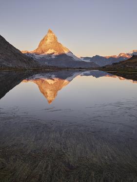 Riffelsee, Gornergrat, Matterhorn, Zermatt, Valais, Switzerland by Rainer Mirau