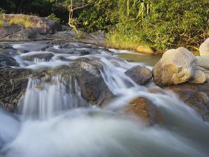 River Than Sadet, Island Koh Phangan, Thailand by Rainer Mirau