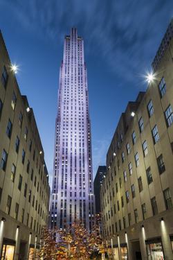 Rockefeller Centre, Manhattan, New York by Rainer Mirau