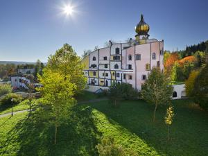 Rogner Bad Blumau, Hundertwasser, Burgenland, Austria by Rainer Mirau