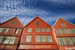 Scandinavia, Norway, Mountains, Bryggen, Frontage, Exterior by Rainer Mirau