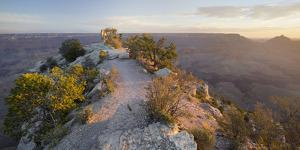Shoshone Point, South Rim, Grand Canyon National Park, Arizona, Usa by Rainer Mirau