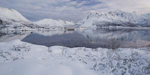 Sildpollneset (Peninsula), Vestpollen, Austnesfjorden, Austvagoya (Island), Lofoten by Rainer Mirau