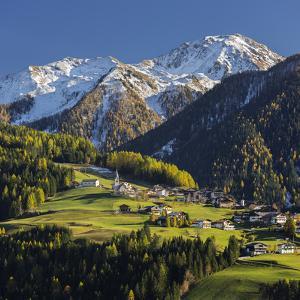 St. Oswald, Puster Valley, Tirol, Gailtal, Carnic Alps, East Tyrol, Tyrol, Austria by Rainer Mirau