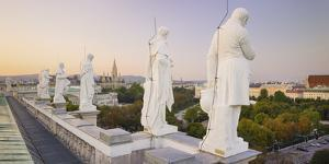 Statues at the Museum of Natural History, Parliament, City Hall, Ringstra§e, 1st District by Rainer Mirau