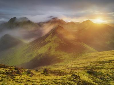 Storkonufell, Mofell, Fjallabak, South Iceland, Iceland by Rainer Mirau