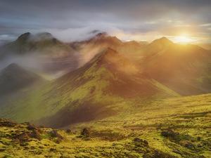 Storkonufell, Mofell, Fjallabak, South Iceland, Iceland by Rainer Mirau