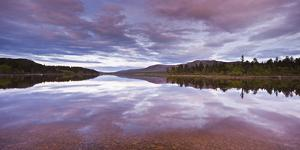 Sweden, Lapland, Stora Sjšfallet National Park, Net Curtain Lulevatten by Rainer Mirau