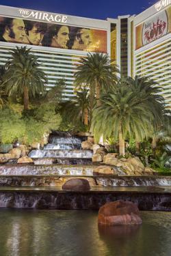 The Mirage Hotel, Strip, South Las Vegas Boulevard, Las Vegas, Nevada, Usa by Rainer Mirau