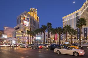 The Venetian Hotel, Strip, South Las Vegas Boulevard, Las Vegas, Nevada, Usa by Rainer Mirau
