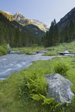 Torrente Sarca in Val Nambrone, Trentino, Italy by Rainer Mirau