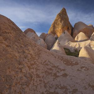 Tuff Erosion Near Gšreme, Cappadocia, Anatolia, Turkey by Rainer Mirau