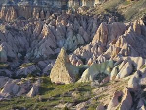Tuff Stone Erosion in the Rose Valley Close Gšreme, Cappadocia, Anatolia, Turkey by Rainer Mirau