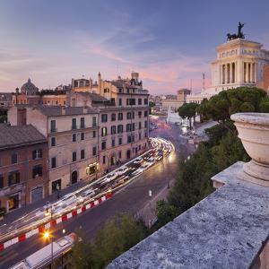 Via Del Teatro Marcello, Santa Maria in Aracoeli, Monumento Vittorio Emanuele Ii, Rome, Lazio by Rainer Mirau