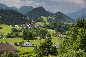 View at Maria Neustift, Austria by Rainer Mirau