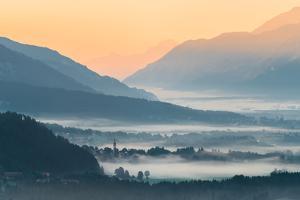 View in the Gailtal, Carinthia, Austria by Rainer Mirau