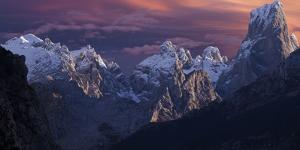 View of Camarmena in the Picos Del Europe National Park, Asturias, Spain by Rainer Mirau