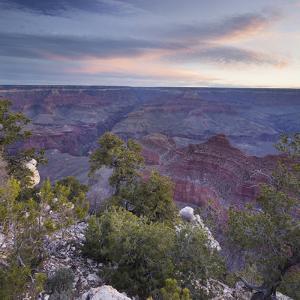 Yavapai Point, South Rim, Grand Canyon National Park, Arizona, Usa by Rainer Mirau