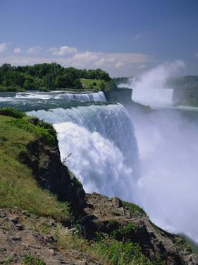 American Falls at the Niagara Falls, New York State, United States of America, North America by Rainford Roy