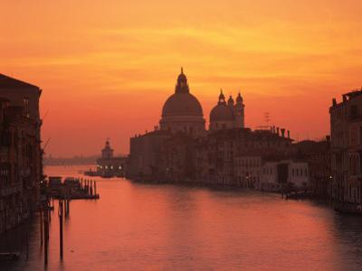 Grand Canal and Santa Maria Della Salute, Venice, UNESCO World Heritage Site, Veneto, Italy, Europe by Rainford Roy