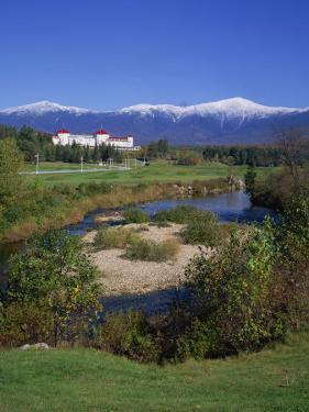 Hotel Below Mount Washington, White Mountains National Forest, New Hampshire, New England, USA by Rainford Roy
