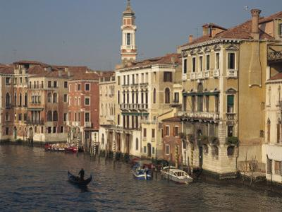Houses on the Grand Canal in Venice, UNESCO World Heritage Site, Veneto, Italy, Europe by Rainford Roy