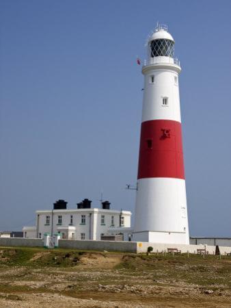 Portland Bill Lighthouse, Isle of Portland, Weymouth, Dorset, England, United Kingdom, Europe by Rainford Roy