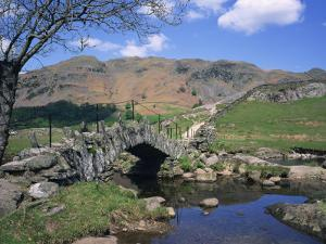 Slaters Bridge, Little Langdale, Lake District, Cumbria, England, United Kingdom, Europe by Rainford Roy