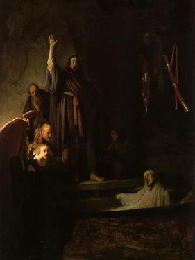 Raising of Lazarus, 1630