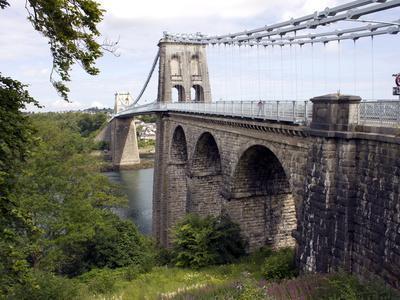 Menai Bridge, Anglesey, North Wales, Wales, United Kingdom, Europe