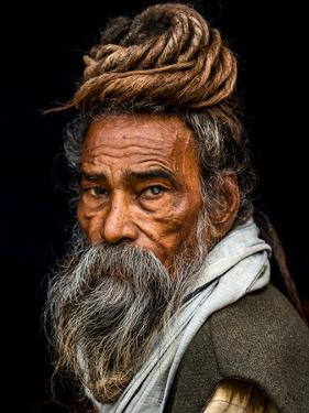 Portrait of a Sadhu... by Rakesh J.V