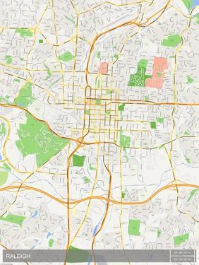 Raleigh, United States of America Map